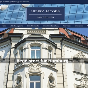 Henry Jacobs Immobilien Homepage