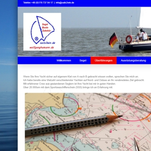 Sails2Win Homepage